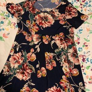 My Bump peplum style blouse